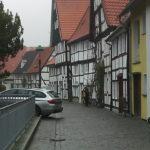 Pruski mur - typowa zabudowa Soest