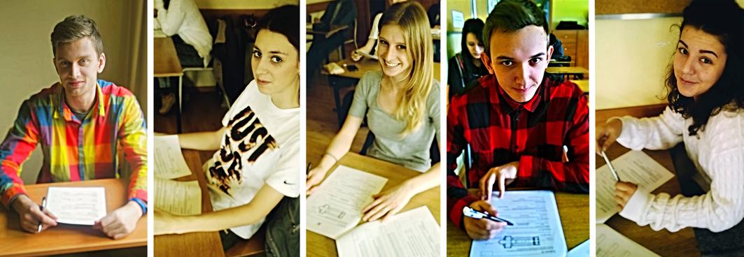 uczniowie na olimpiadzie z historii sztuki