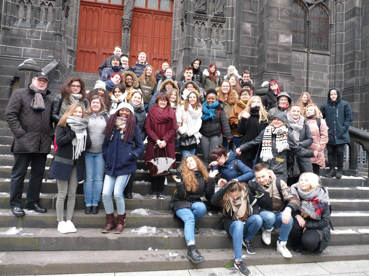 Uczniowie Liceum Plastycznego na wymianie młodzieży we Francji