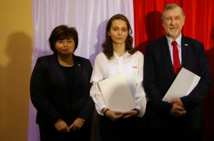 Stypendium Prezesa Rady Ministrów dla Zuzanny Rutkowskiej