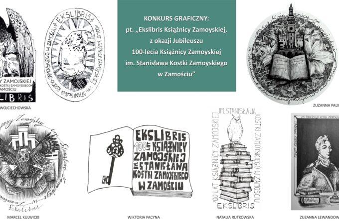 Konkurs pod hasłem Ekslibris Książnicy Zamojskiej